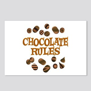 Chocolate Rules Postcards (Package of 8)