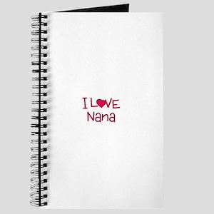 I Love Nana Journal