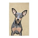 Miniature Pinscher Area Rug