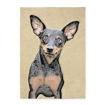 Miniature Pinscher 5'x7'Area Rug