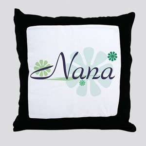Fun Nana Throw Pillow