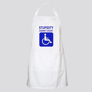PARK ELSEWHERE Apron