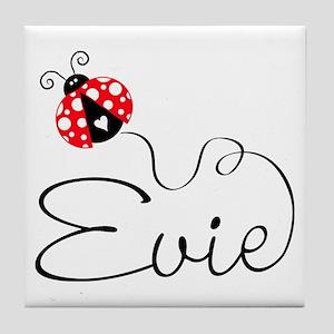 Ladybug Evie Tile Coaster