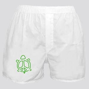 Peace turtle Boxer Shorts