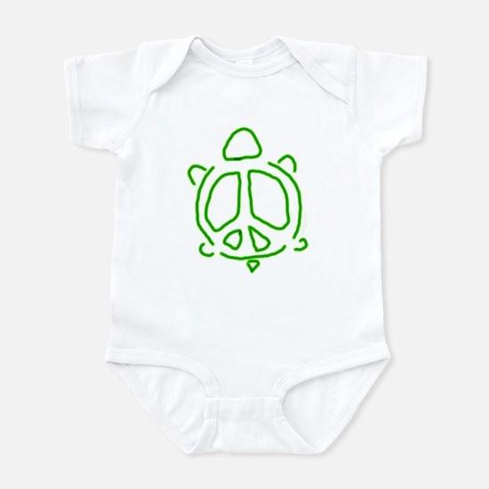 Peace turtle Infant Bodysuit