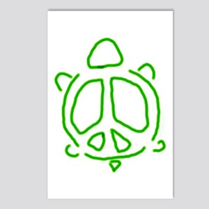 Peace turtle Postcards (Package of 8)