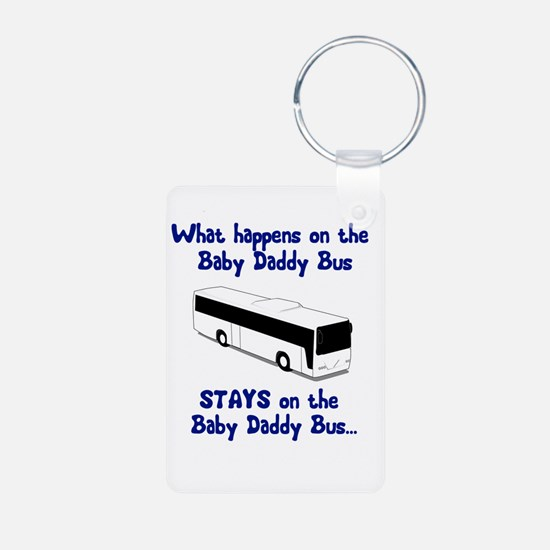 Baby Daddy Bus Keychains