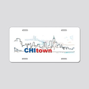 ChiTown Aluminum License Plate