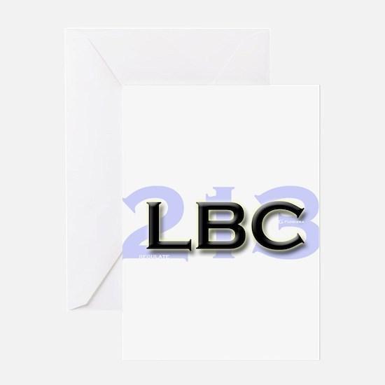 LBC 213 Greeting Card