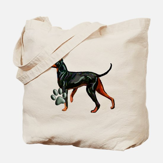 Manchester Terrier Dog Breed Tote Bag