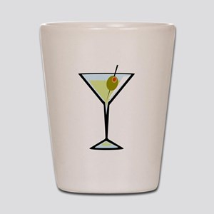 Dirty Martini Shot Glass