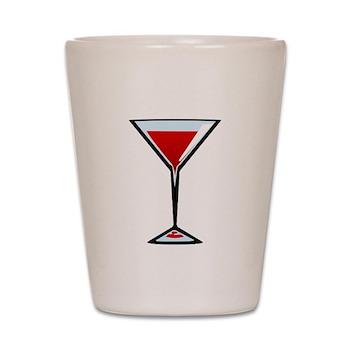 Vampire Martini Shot Glass