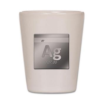 Silver (Ag) Shot Glass