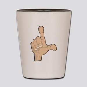 Hand - Loser Fingers Shot Glass