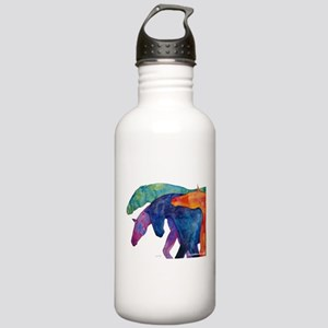 Rainbow Horses Stainless Water Bottle 1.0L