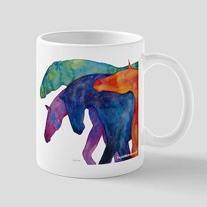 Rainbow Horses Mug