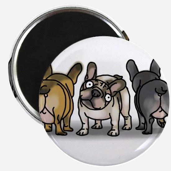 Funny French bulldog Magnet
