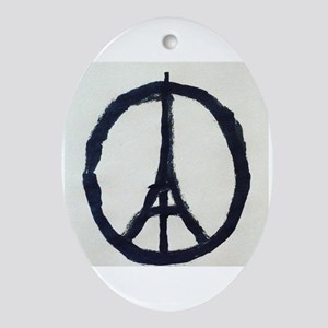 Paris (oval) Oval Ornament