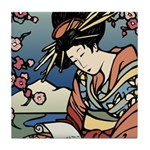 Geisha Tile Coaster