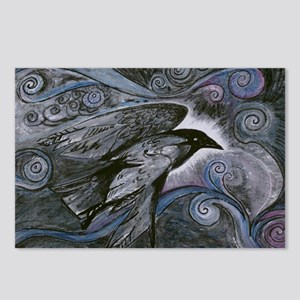 Night Raven Postcards (Package of 8)