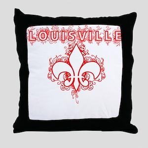 Louisville EH Throw Pillow