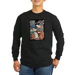 Geisha Long Sleeve Dark T-Shirt
