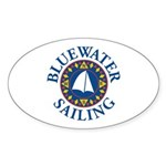 BWS Oval Sticker