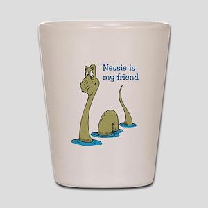 Nessie Shot Glass