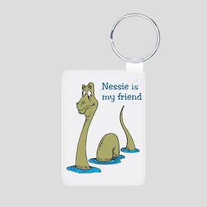 Nessie Aluminum Photo Keychain