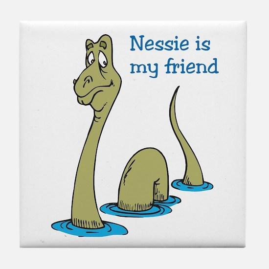 Nessie Tile Coaster