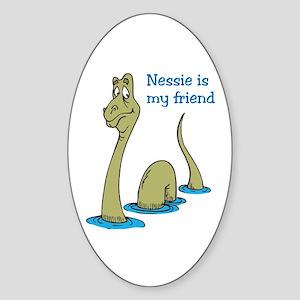Nessie Sticker (Oval)