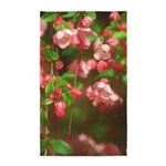 Pink Blossoms Area Rug