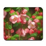 Pink Blossoms Mousepad