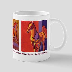 """Equine Shapes"" Mug"