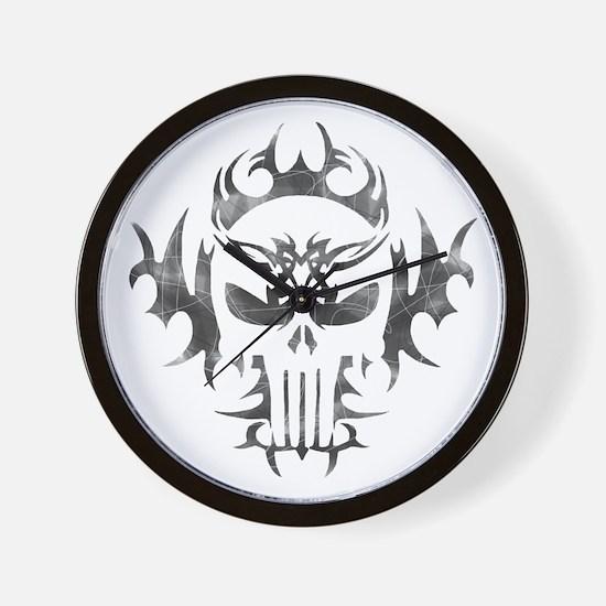 Tribal Punisher Wall Clock