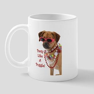 party like a puggle... Mugs