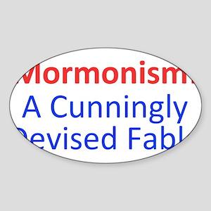 Mormonism CDF Sticker (Oval)