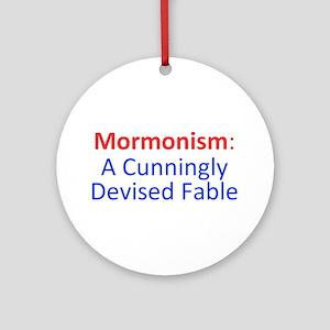 Mormonism CDF Ornament (Round)