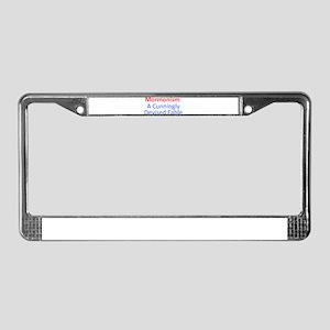 Mormonism CDF License Plate Frame
