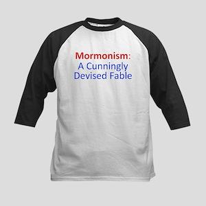 Mormonism CDF Kids Baseball Jersey