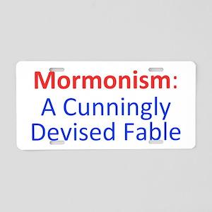 Mormonism CDF Aluminum License Plate