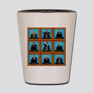 Presidential Squares Shot Glass