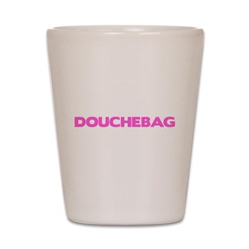 Douchebag Shot Glass