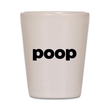 Poop Shot Glass