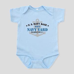 US Navy Yard Base Infant Bodysuit