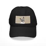 Rat Terrier Black Cap with Patch