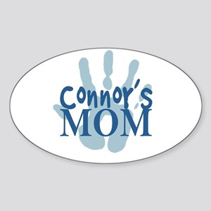 Connor's Mom Sticker (Oval)