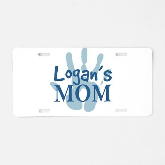 Logan's Mom Aluminum License Plate