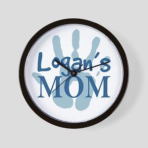 Logan's Mom Wall Clock