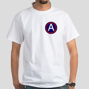 3rd Army White T-Shirt